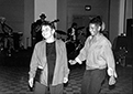 Adrienne Rich and June Jordan take the first dance at the 1984 conference in Tempe, Arizona